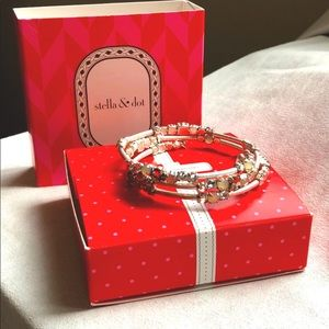 Stella & Dot - Isabelle Wrap Bracelet